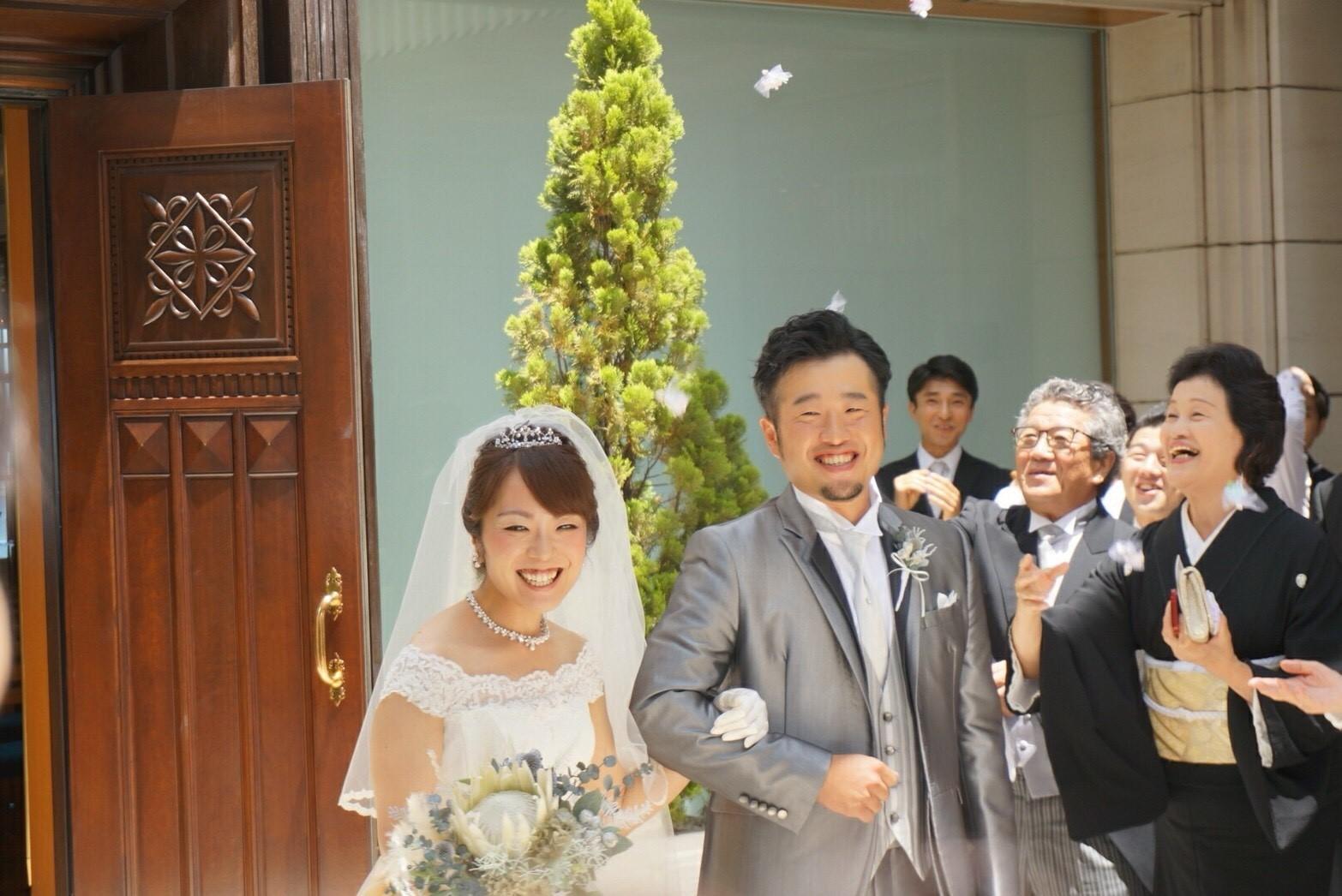 【結婚式当日の撮影①】/横浜 元町 ウエディングサロン