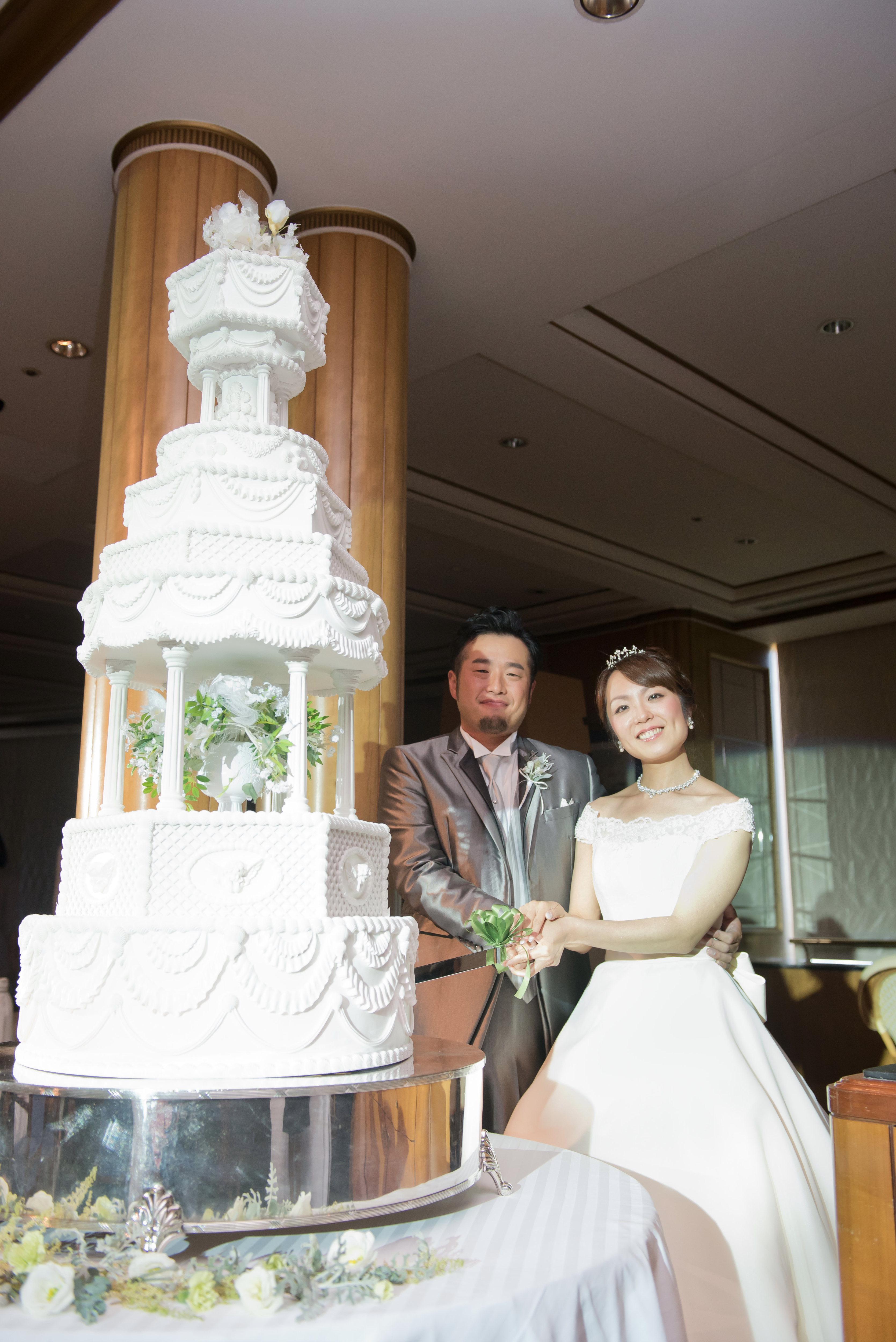結婚式演出;ケーキ入刀♪