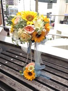 大切な友人のウエディングブーケ|横浜 元町 ウエディングサロン