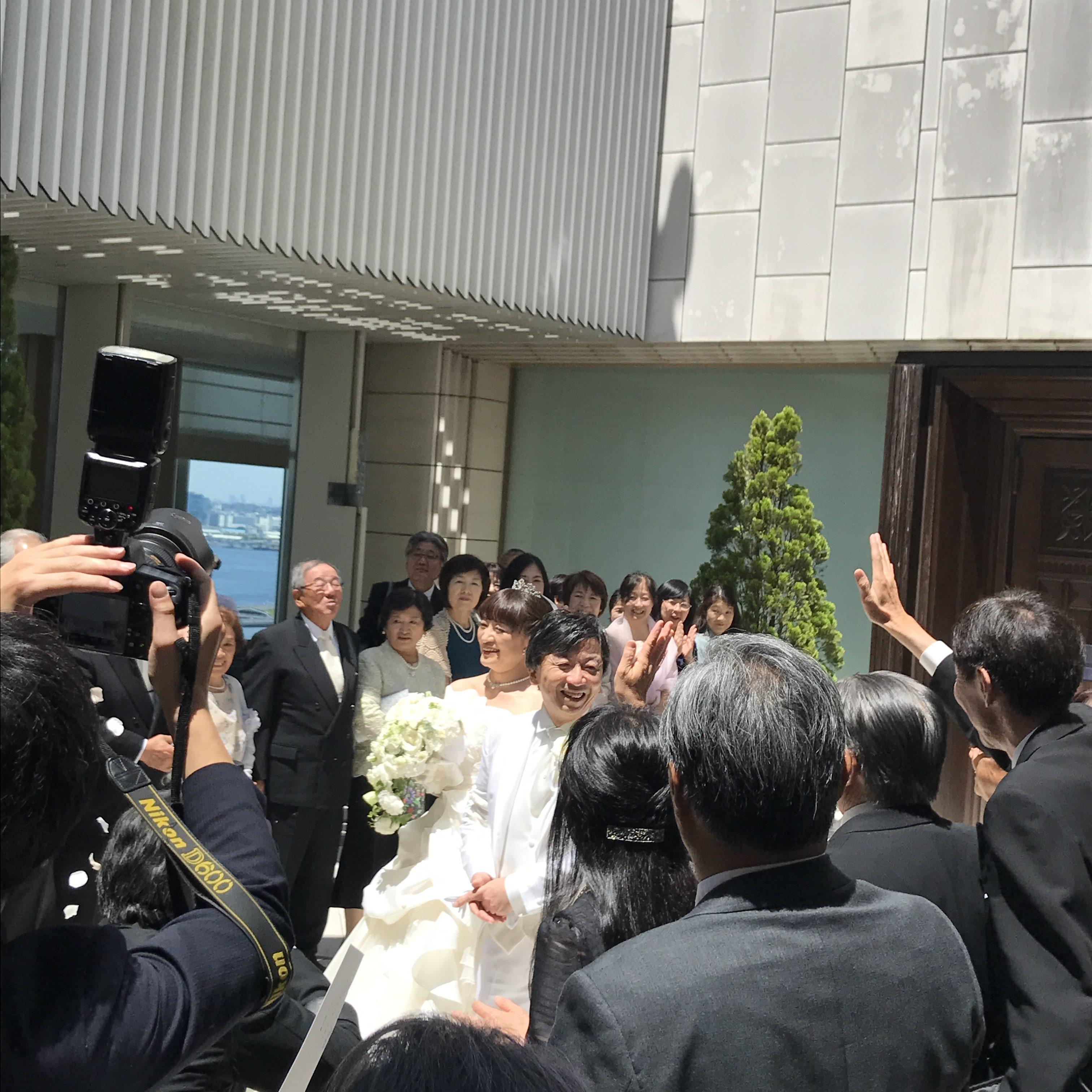 結婚式のおかげで!/横浜 元町 ウエディングサロン